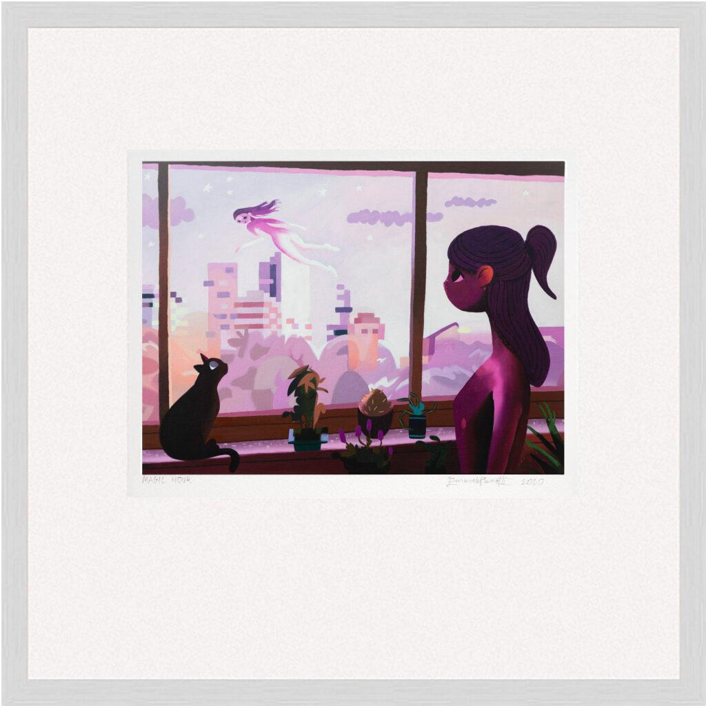 Custom framed Magic Hour - Limited edition art print