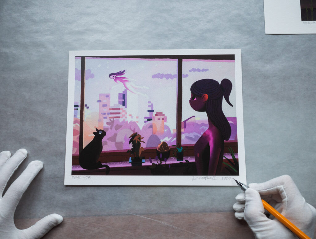 Magic Hour - Limited edition art print signed