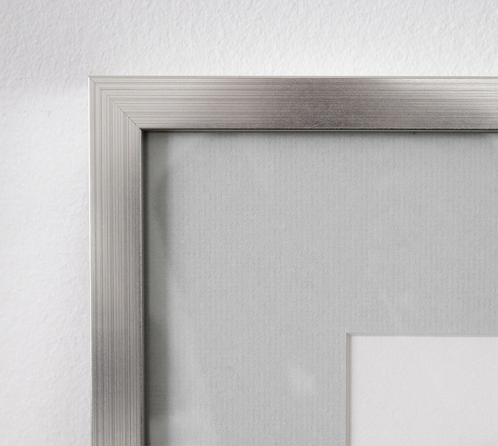 Custom frame and matte